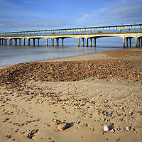 Buy canvas prints of Boscombe Pier by Andrew Ray