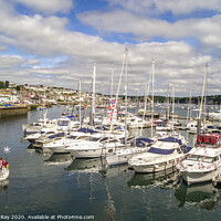 Buy canvas prints of Falmouth Harbour by Andrew Ray