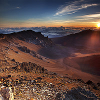 Buy canvas prints of Sunrise at the end of the World by Amit Saha