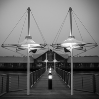 Buy canvas prints of Symmetry in Dundee by Stuart Sinclair