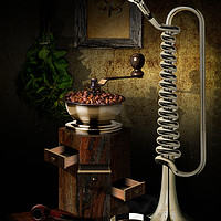 Buy canvas prints of Still-life With The Trumpet by Arvydas Butautas
