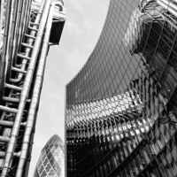 Buy canvas prints of  London cityscape  by Jeremy Moseley