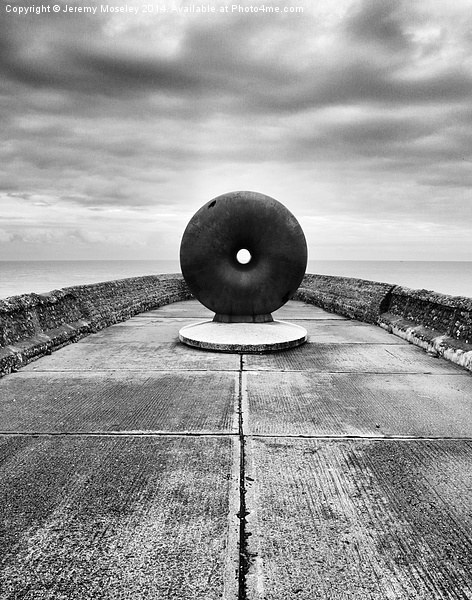 Afloat, Brighton Canvas print by Jeremy Moseley