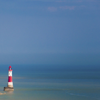 Buy canvas prints of  Beachy Head by Louise Wilden
