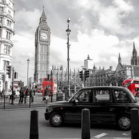 Buy canvas prints of  Iconic London by Louise Wilden