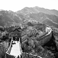 Buy canvas prints of The Great Wall of China by Louise Wilden