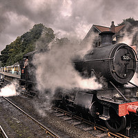Buy canvas prints of Smoke and Steam (colour) by Antony Burch