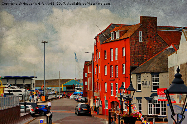 poole Quay Canvas print by Heaven's Gift xxx68