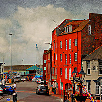 Buy canvas prints of poole Quay by Heaven's Gift xxx68