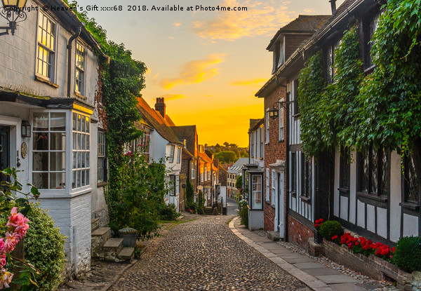 mermaid lane rye east sussex  Framed Mounted Print by Heaven's Gift xxx68
