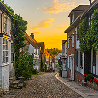 Buy canvas prints of mermaid lane rye east sussex  by Heaven's Gift xxx68