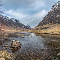 Buy canvas prints of Loch river by Jonathon barnett
