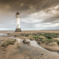 Buy canvas prints of Lighthouse at New Brighton by Jonathon barnett
