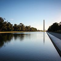Buy canvas prints of Morning at the Washington  by David Siggers