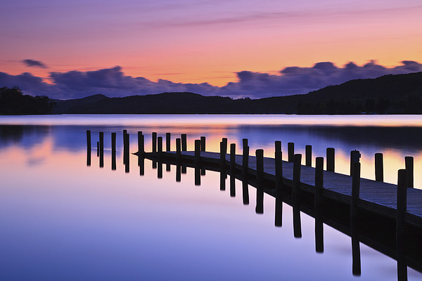 Coniston Jetty Canvas print by Richard Bowden