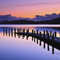 Buy canvas prints of Coniston Jetty by Richard Bowden
