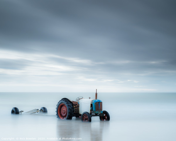 Sea Tractor Canvas Print by Rick Bowden