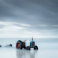 Buy canvas prints of Sea Tractor by Rick Bowden