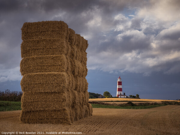 Happisburgh, Norfolk Framed Mounted Print by Rick Bowden