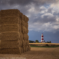 Buy canvas prints of Happisburgh, Norfolk by Rick Bowden