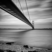 Buy canvas prints of Humber bridge by jason thompson