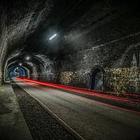 Buy canvas prints of monsal tunnel  by jason thompson