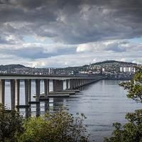 Buy canvas prints of  Tay Bridge by Alan Sinclair