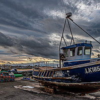 Buy canvas prints of Fishing Boat  by Alan Sinclair