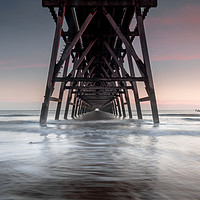 Buy canvas prints of Steetley Pier, Hartlepool by Marcia Gain
