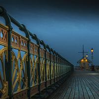 Buy canvas prints of  Penarth Pier by Chris Jones