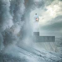 Buy canvas prints of Porthcawl Storm by Chris Jones