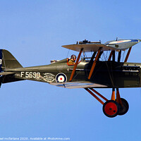 Buy canvas prints of sopwith camel bi-plane by michael mcfarlane