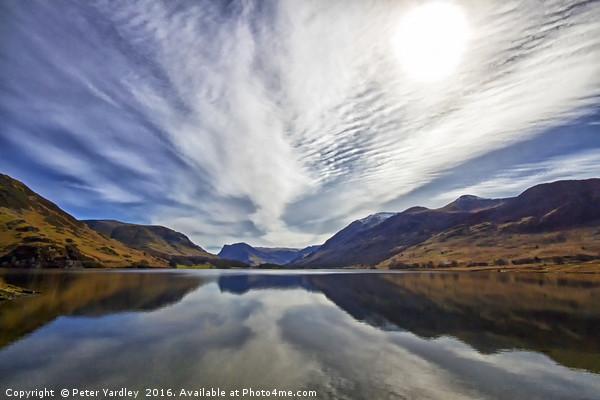 Big Sky At Crummock Water Canvas print by Peter Yardley