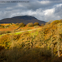 Buy canvas prints of Autumn in Snowdonia by Andrew Kearton