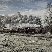 Buy canvas prints of 13065 at Ramsbottom by David Oxtaby