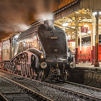 Buy canvas prints of Union of South Africa 60009 at Bury Bolton Street by David Oxtaby