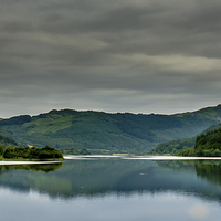 Buy canvas prints of  scottish loch. by stephen king