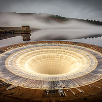 Buy canvas prints of Ladybower Sink Hole - Peak District by Jonathan Smith