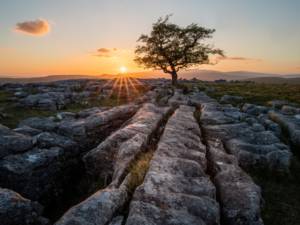 Winskill Stones, Yorkshire Dales Canvas Print by Jonathan Smith