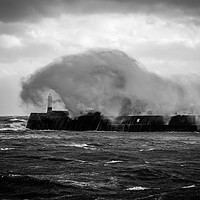 Buy canvas prints of Storm at Porthcawl Bridgend Wales by Jonathan Smith