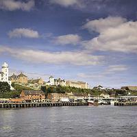 Buy canvas prints of  North Shields Fish Quay by Alexander Perry