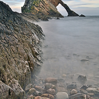 Buy canvas prints of  Bow Fiddle Rock by Eric Watson