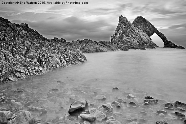 Bow Fiddle Rock Canvas print by Eric Watson