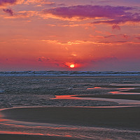 Buy canvas prints of North Sea Sunrise by Eric Watson