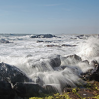 Buy canvas prints of Stormy Sea by Eric Watson