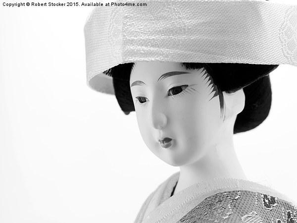 Japanese figure Canvas Print by Robert Stocker