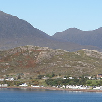 Buy canvas prints of  Village West Highlands Scotland by ian jackson