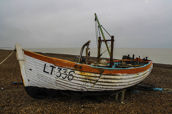 Fishing Boat Canvas print by Ian Walls