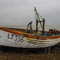 Buy canvas prints of  Fishing Boat by Ian Walls