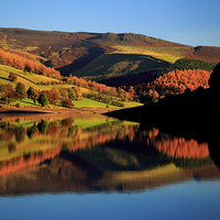 Buy canvas prints of  Ladybower Reservoir by James Douglas